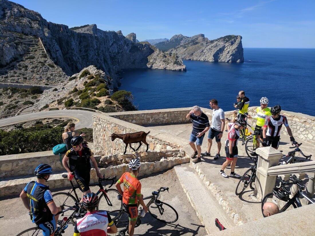 eBike Ausflug Mallorca Cap Formentor